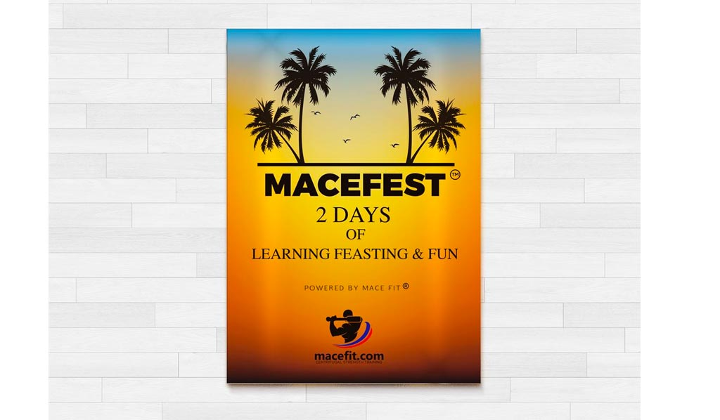 Macefest is Quickly Approaching